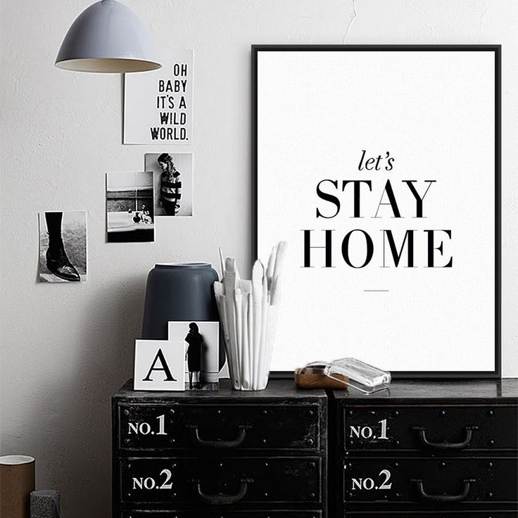 Modern Black Hipster Home quote poster print wall art canvas gift from $4