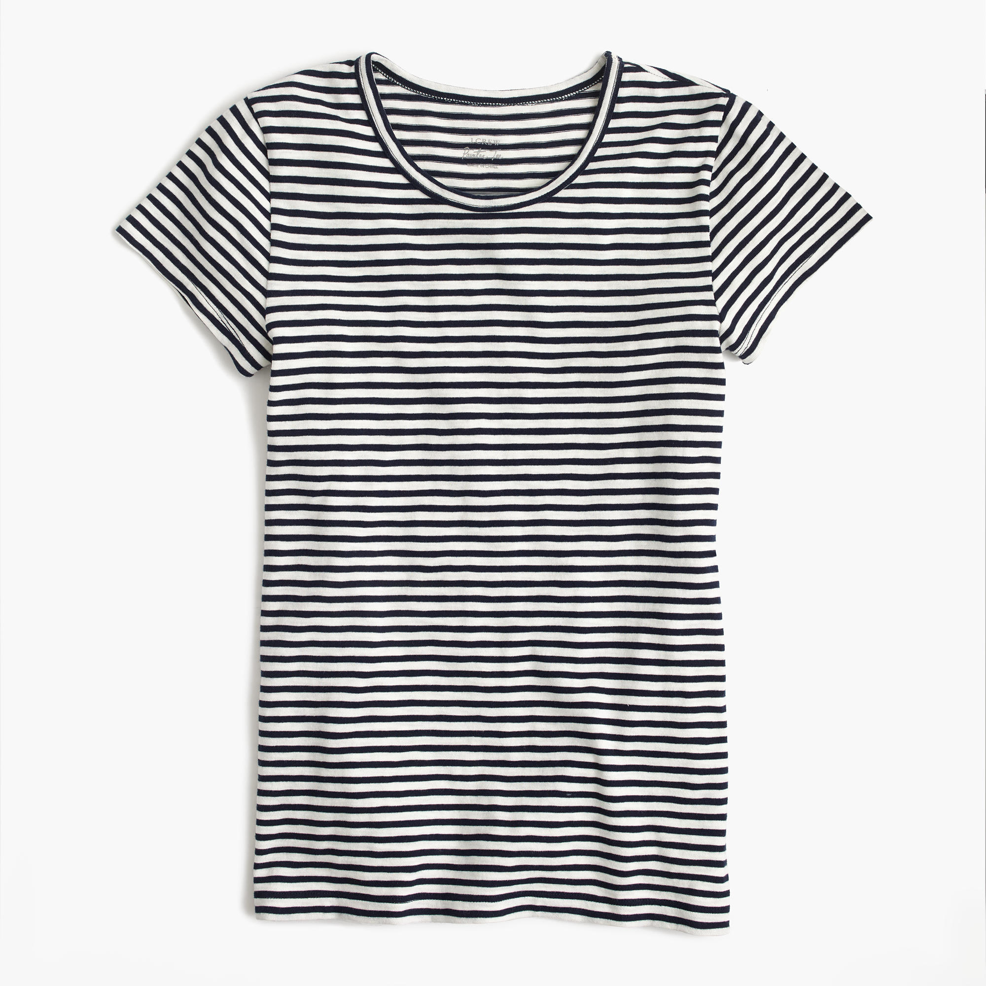 J. CREW SHORT SLEEVE PAINTER T-SHIRT IN STRIPE »» ON SALE $24.50 (USE CODE SPRINGSALE FOR 25% OFF)