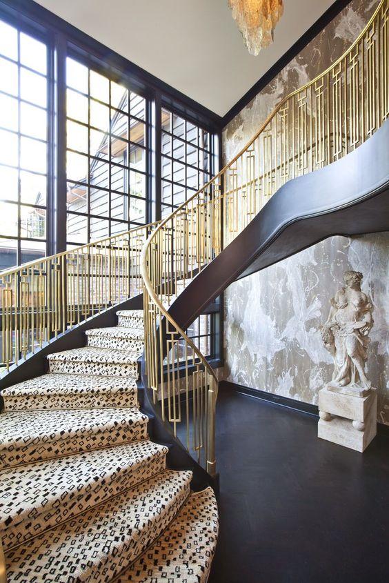 Leopard Stair Runner