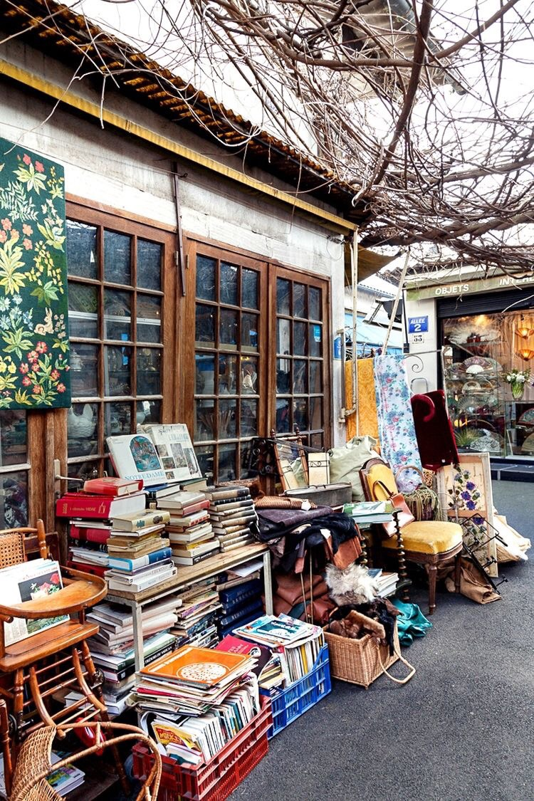 Vintage shopping at flea markets and the like. {Image Source: Foursquare}