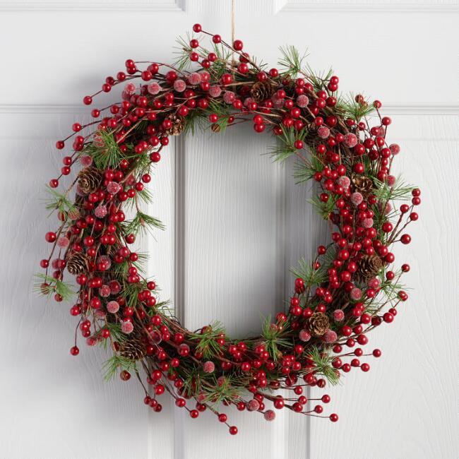 Berry & Pine Wreath