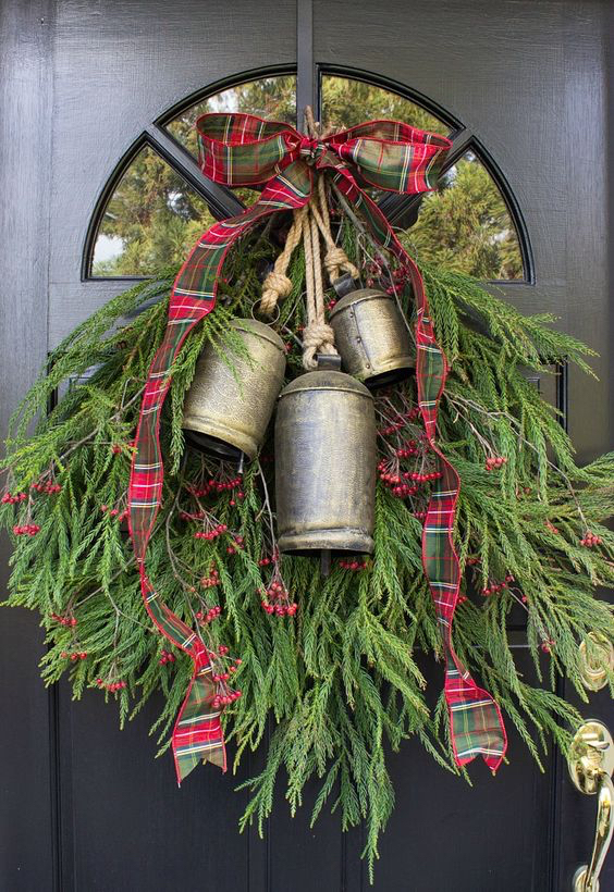 The Decked Out Greenery Wreath DIY