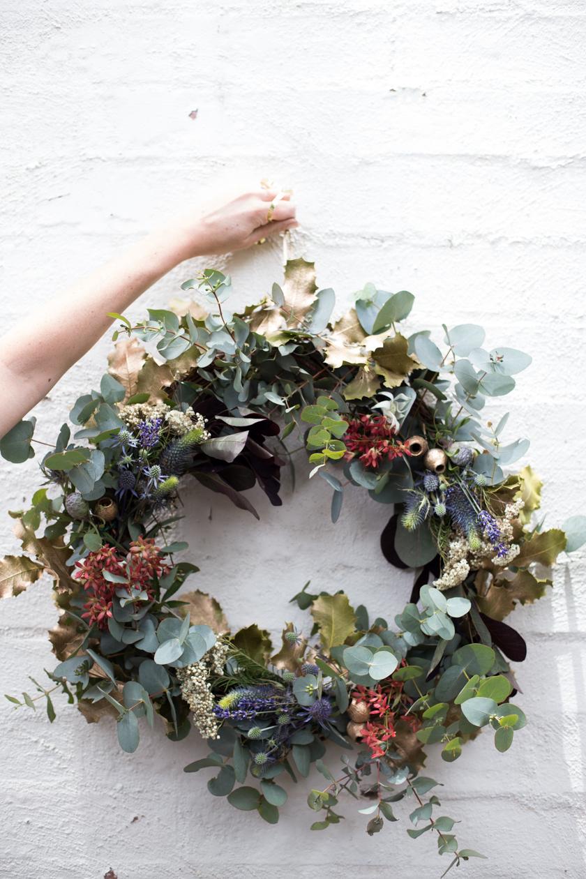 Fragrant Wreath DIY