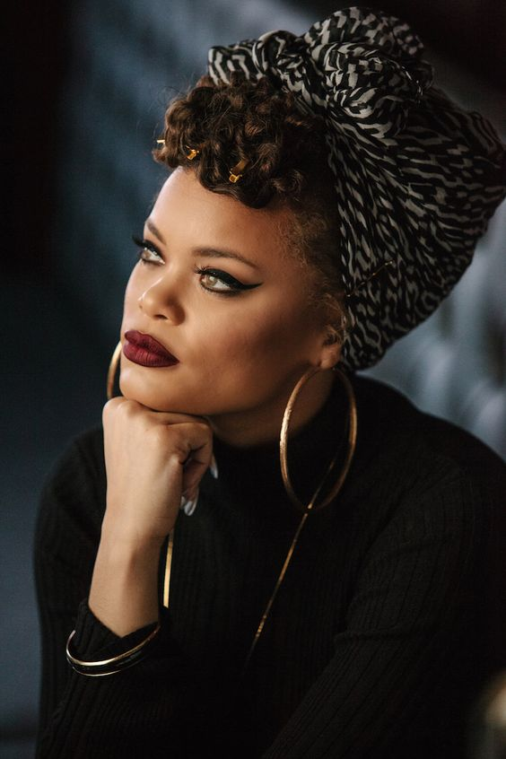 {Image Source: Andra Day via Pinterest | Original  Source Unknown}