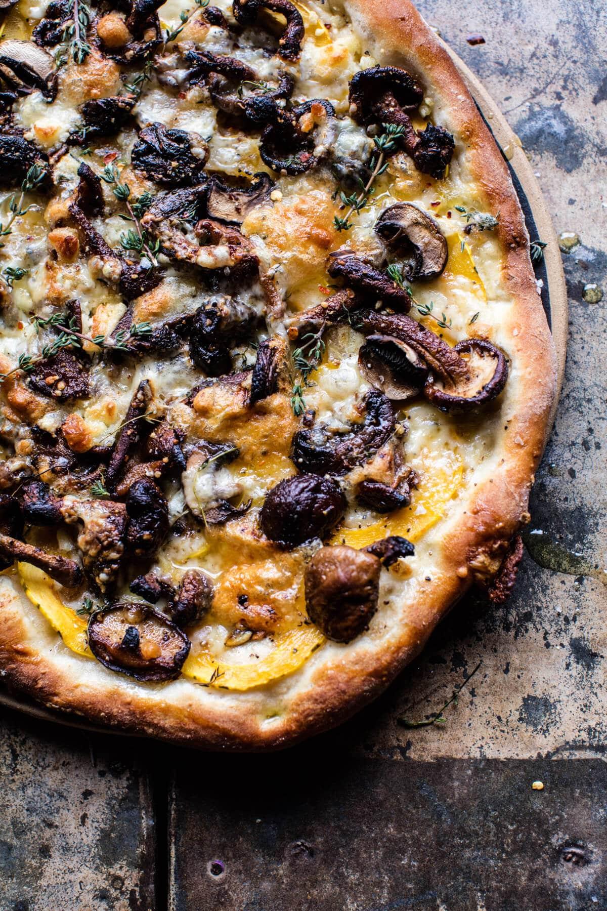 Balsamic Mushroom & Goat Cheese Pizza