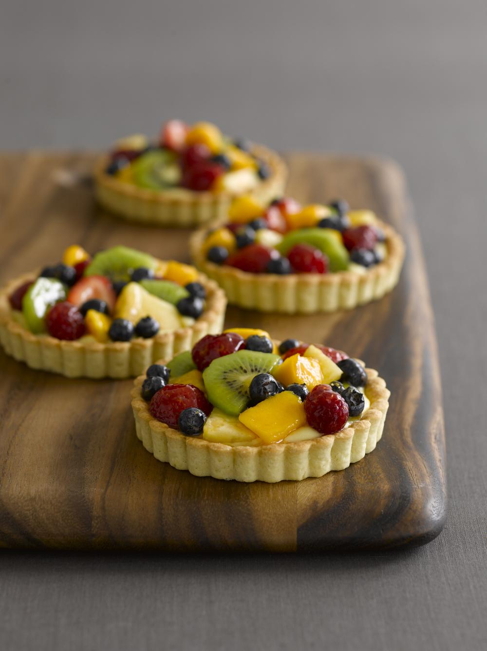 Parisian Fruit Tarts