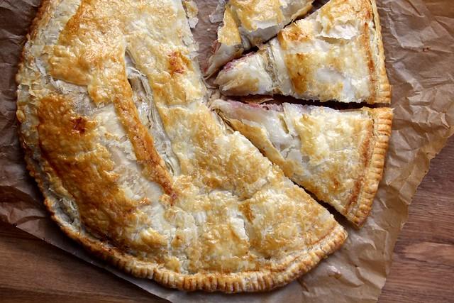 Ina Garten's Ham & Cheese Puff Pastry