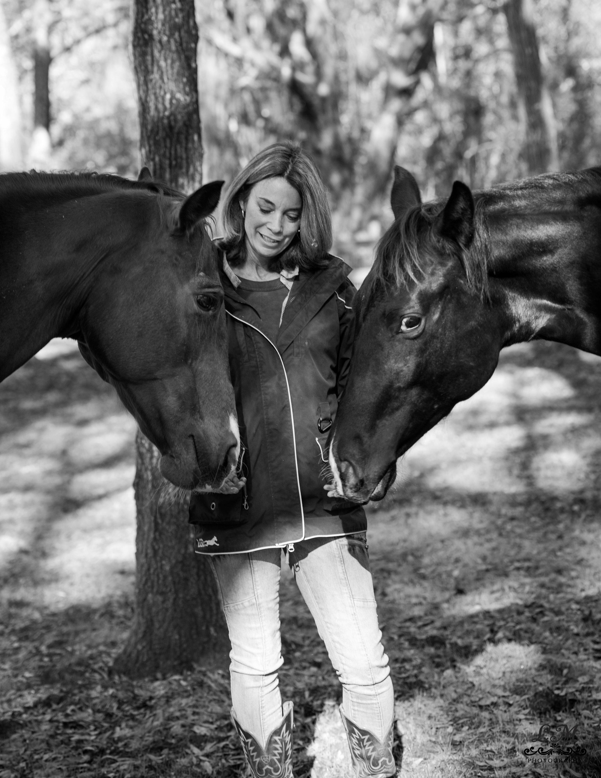 horse farm photo session