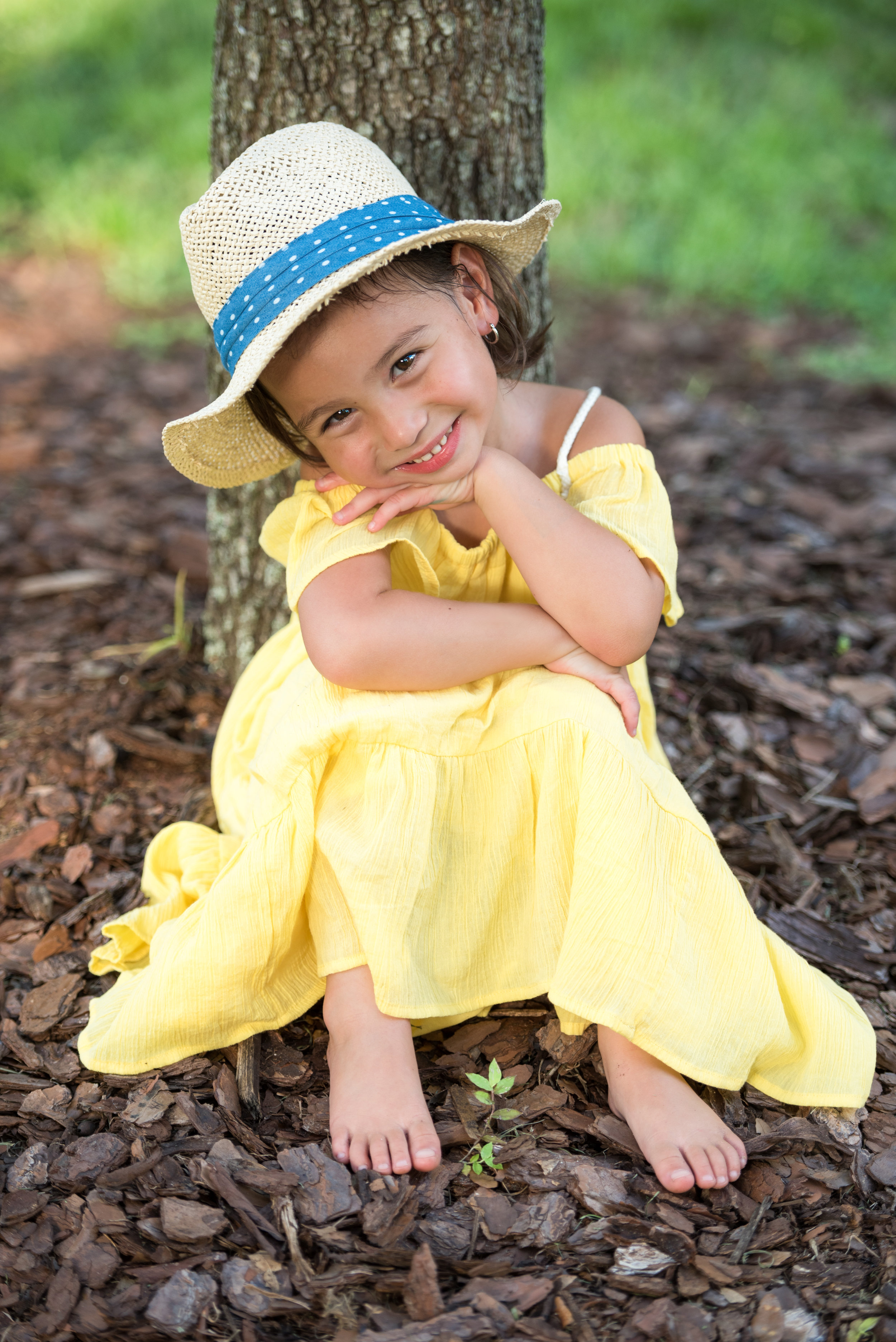 cute girl photo session