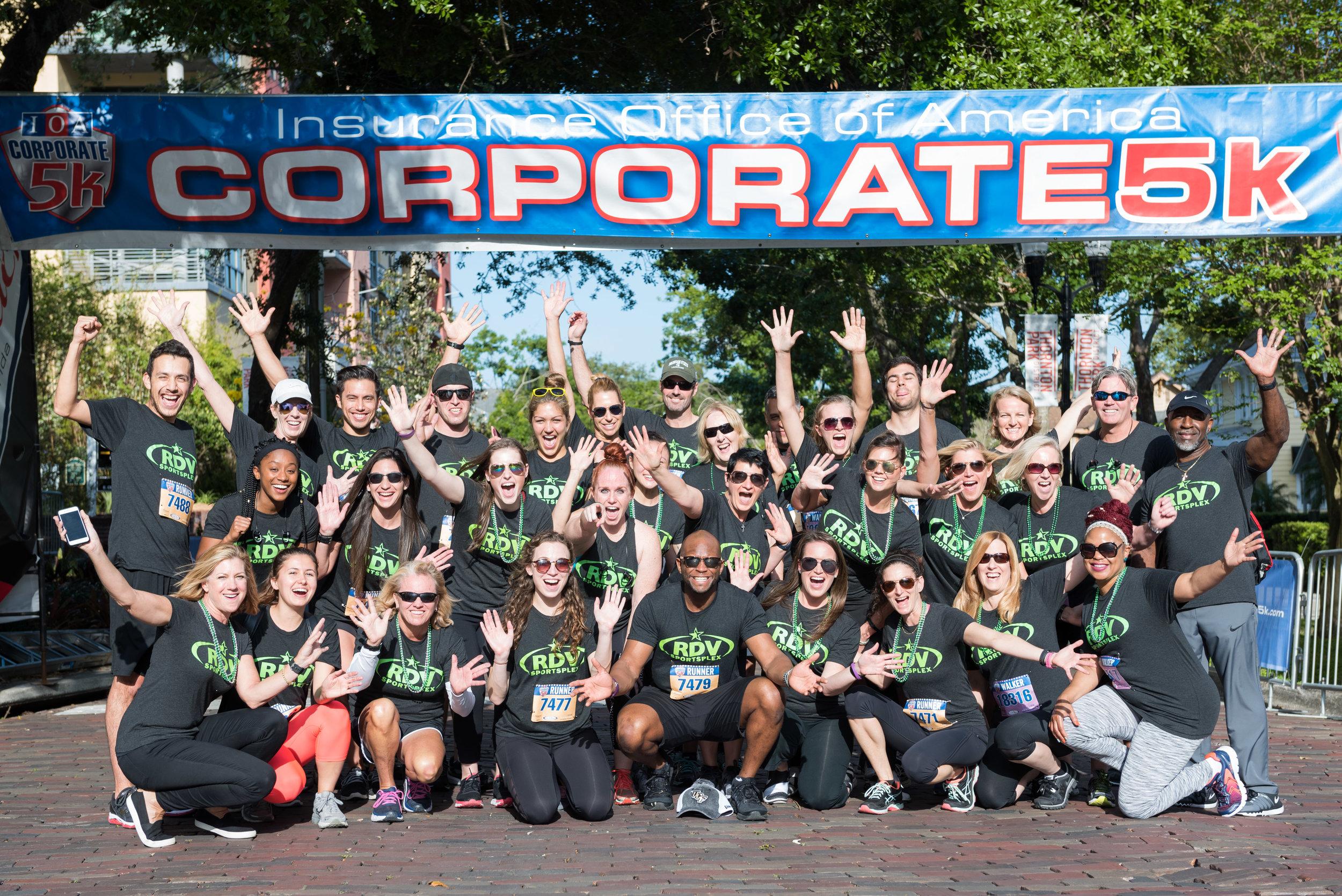ios 5k corporate run at lake eola