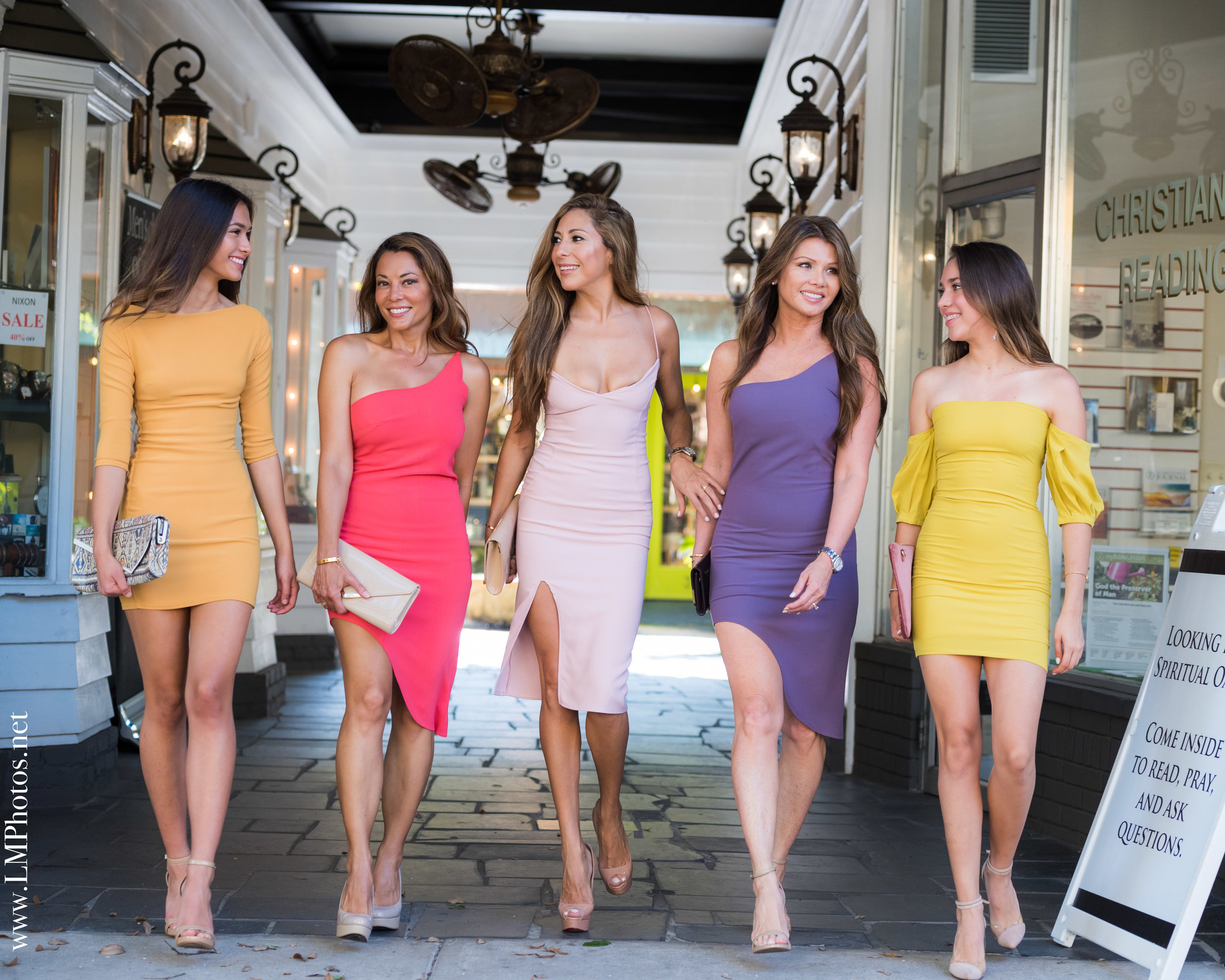 models for Diana Phillips collection