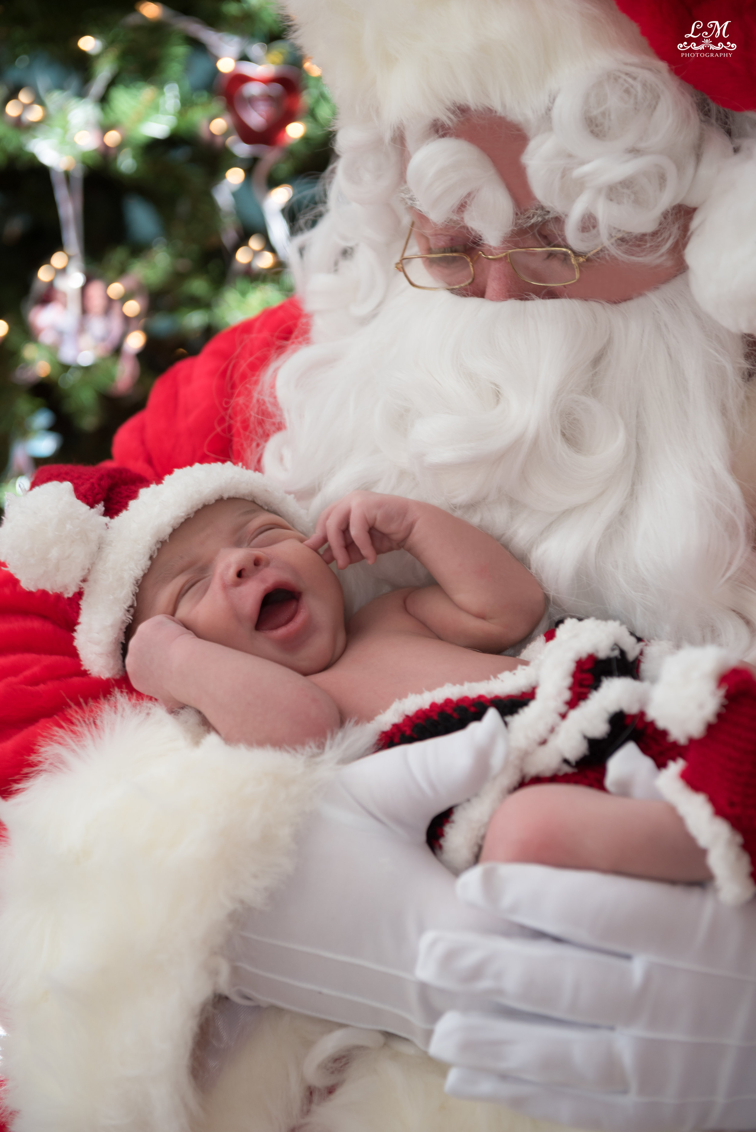 holiday time with a sweet newborn