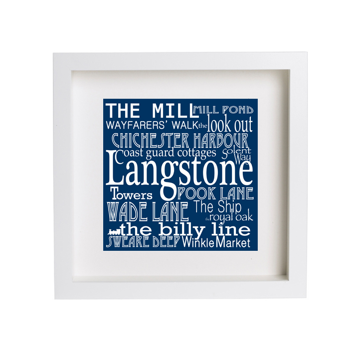 25Words  design for the Langstone Arts Trail