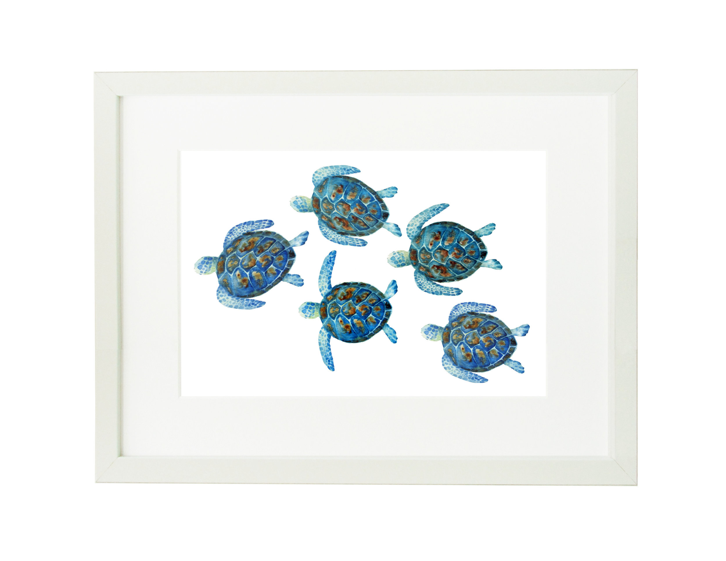 baby sea turtles ikea 30x40 frame for website.jpg