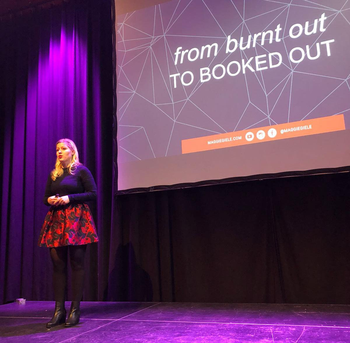 Maggie Giele - From Burnt Out to Booked Out