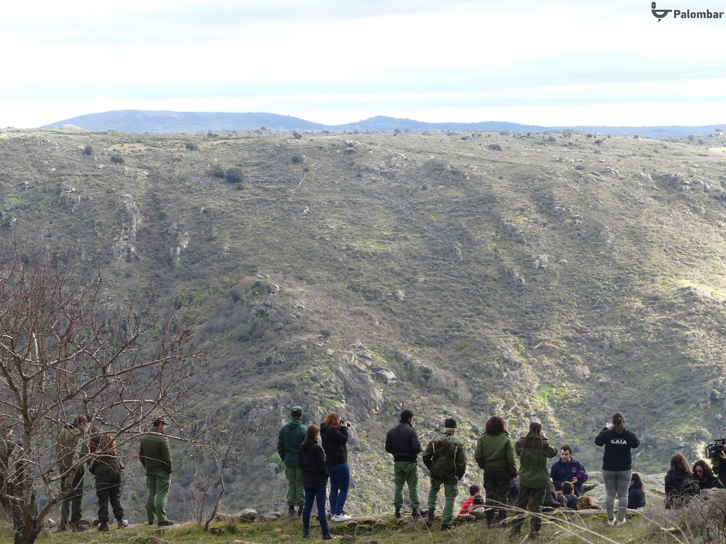 Participantes de várias entidades.