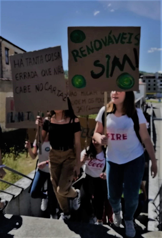 Manifestação Faz pelo Clima - Bragança
