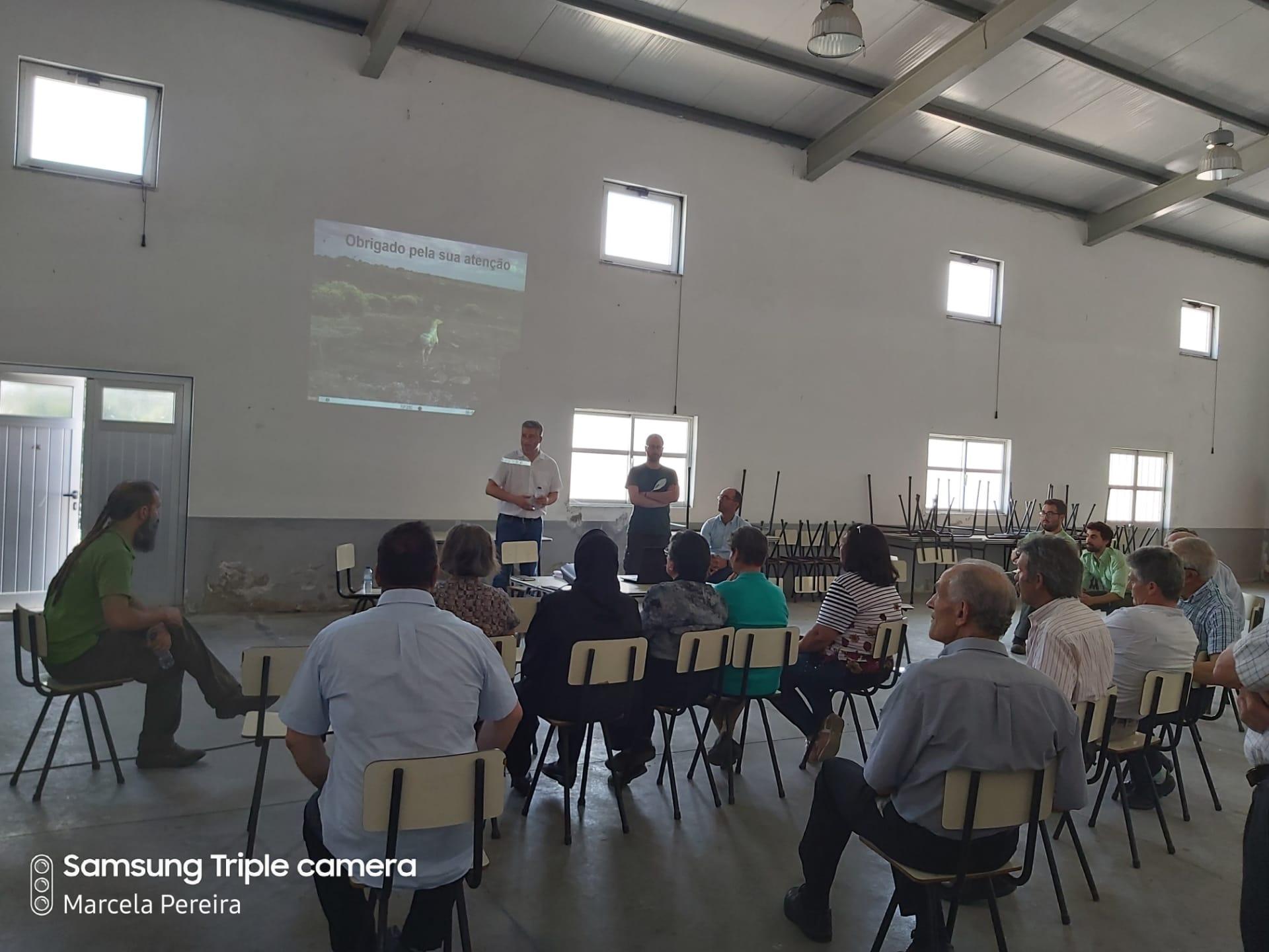 Sessão de esclarecimento sobre o CAAN de Ifanes.
