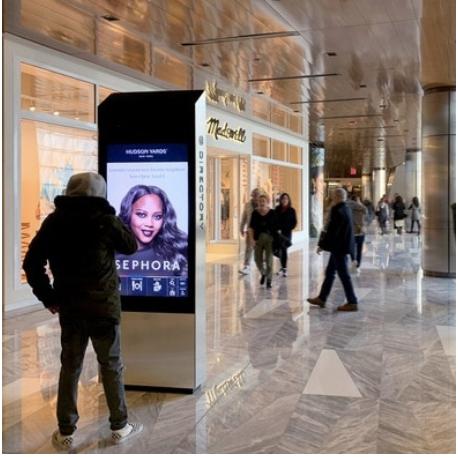 Hudson Yards Interactive Kiosk