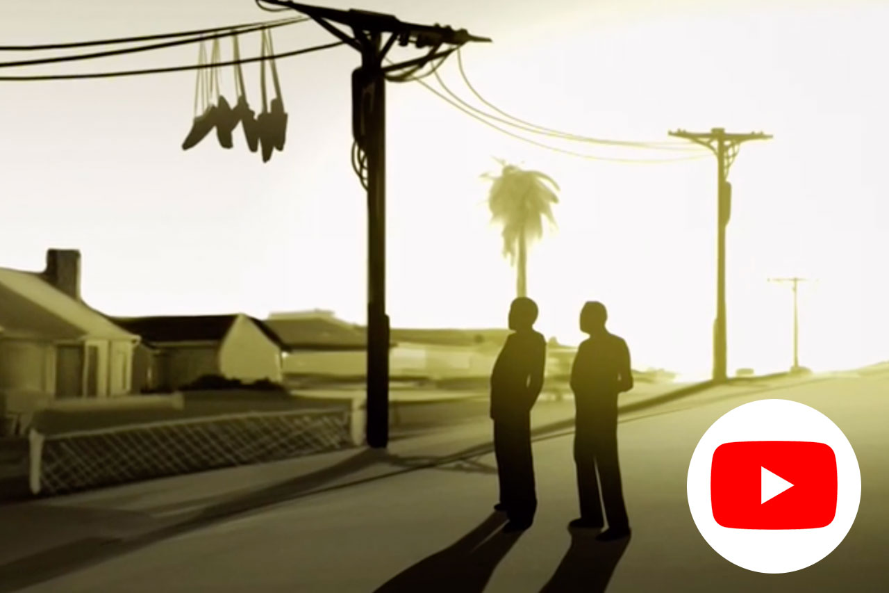 Sneakers - A short documentary about hanging sneakers from telephone wires.