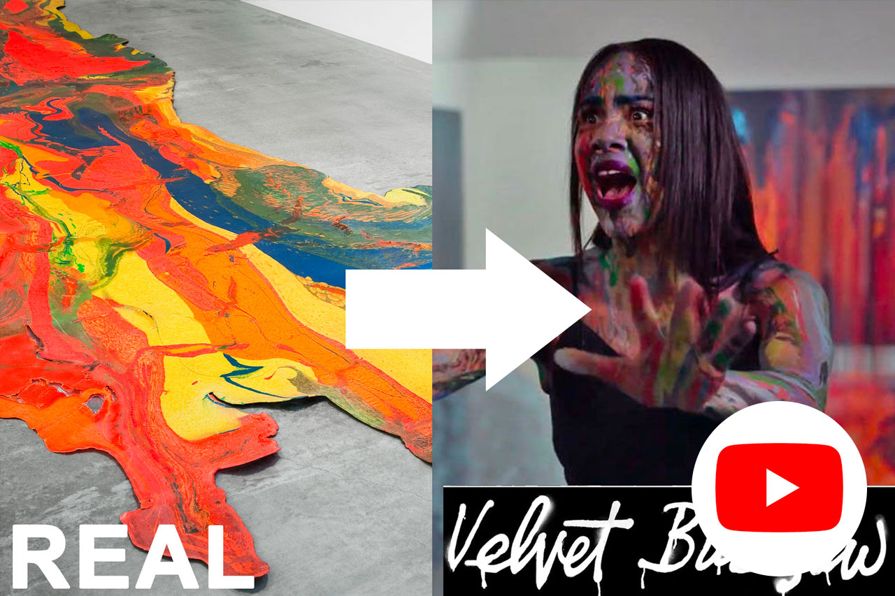 """YouTube - Or watch me on YouTube! If you liked the tour, you'll like me on YouTube. THIS video is my review of the """"art horror"""" film Velvet Buzzsaw and a terrifying secret that a popular color of paint was made out of dead people. Subscribe for mind-blowing art videos all the time!"""
