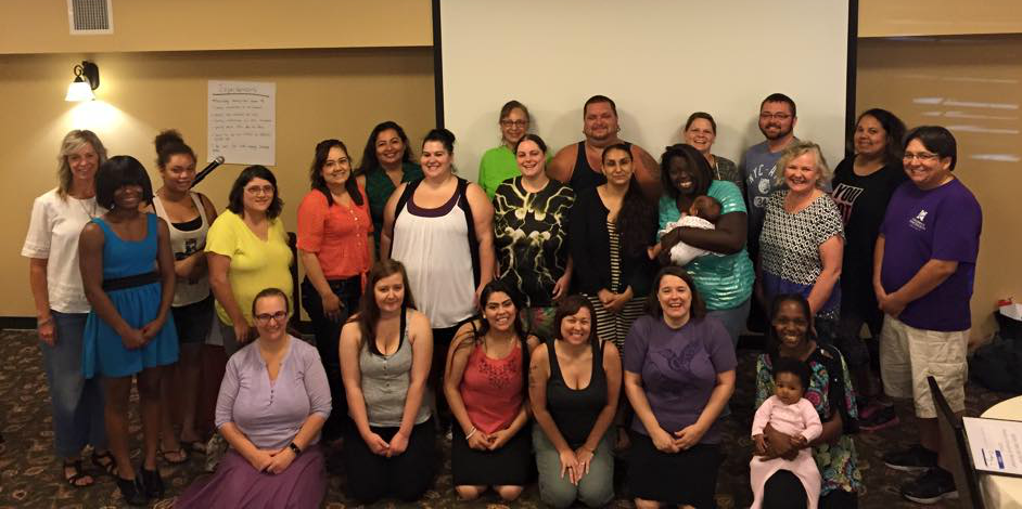The 2016-2017 early learning policy council attend their annual retreat in Leavenworth, Wash.