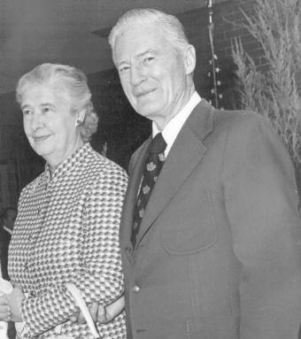Donald and Virginia Sherwood,                         founders of Sherwood Trust