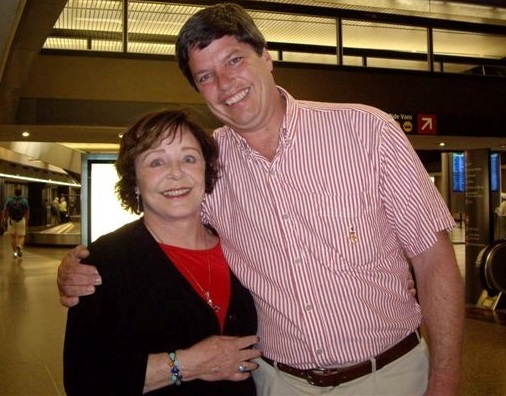 Roger Kindley met his birth mother, Cindy, 10 years ago.