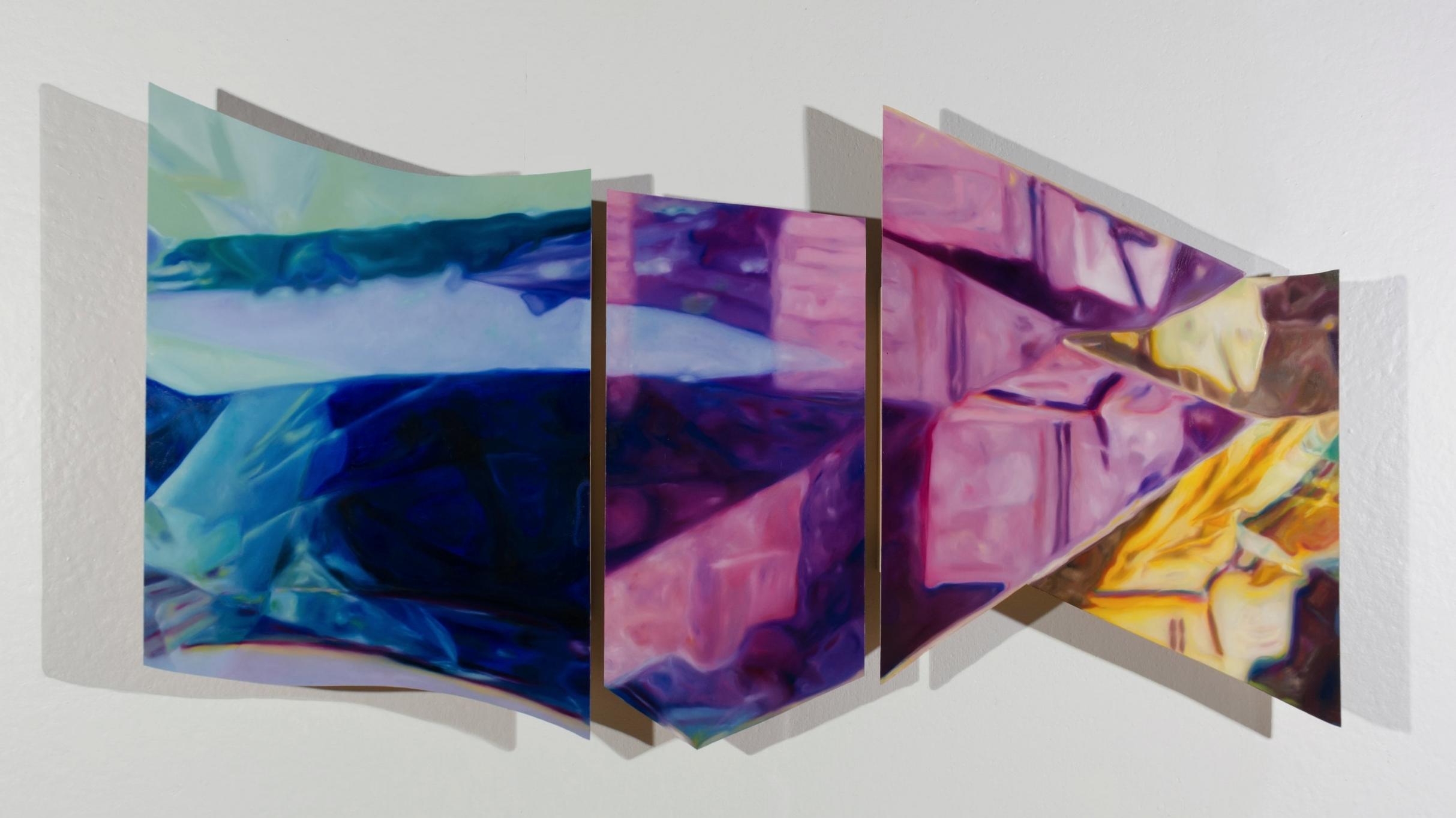 Interior  2016  Oil on Panel  Size Varies