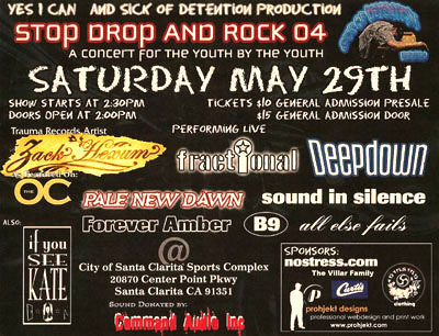 Stop Drop and Rock 2004