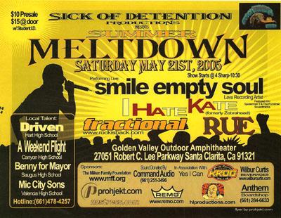 Summer Meltdown 2005