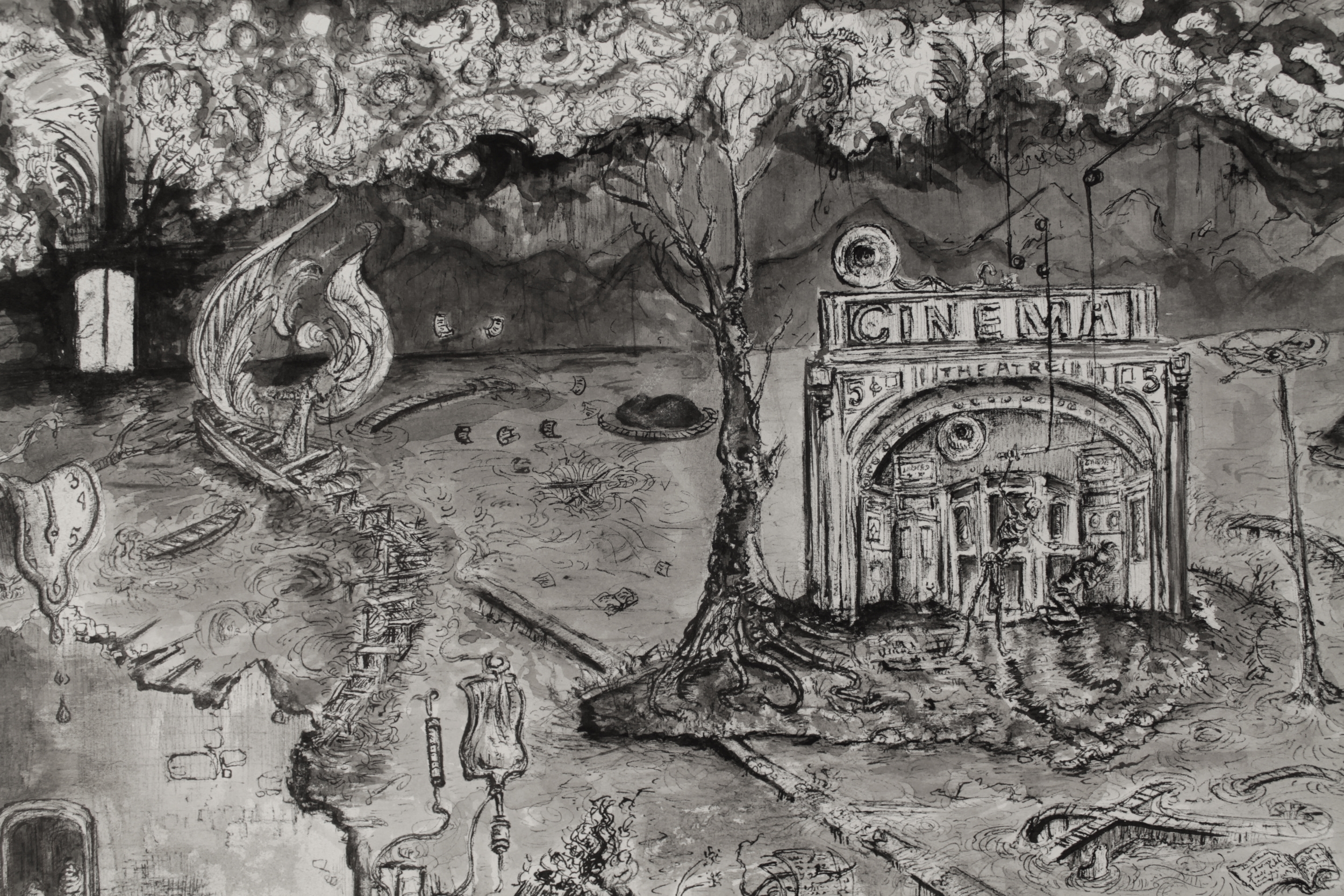 The Gate and the Judge (Detail)