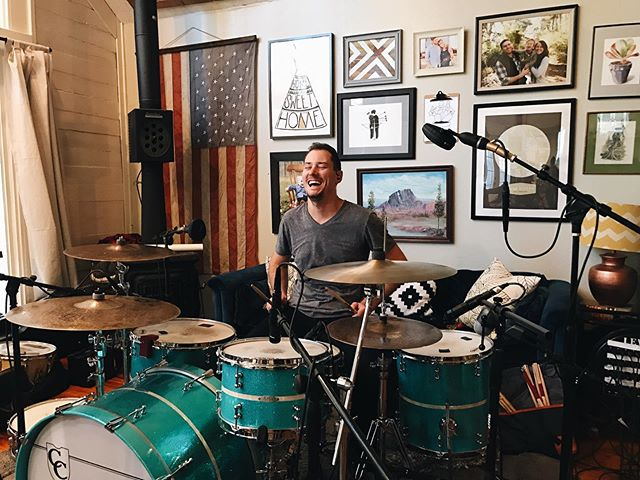 Everyone should wish our drummer, @h0lmstr0m a happy Veterans Day. Thankful for your service to our country brother! (Also, I can't prove it but I honestly think he may still do some sort of covert op top secret military stuff in his free time.) #veteransday #veterandrummers