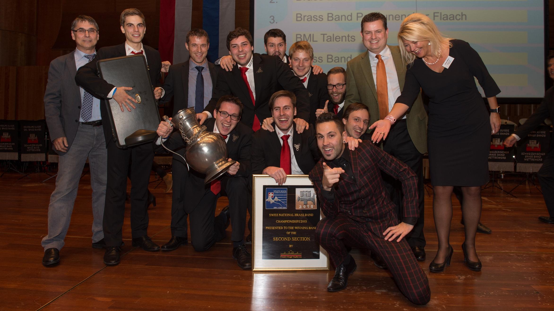 2015: Schweizermeister in der 2. Stärkeklasse