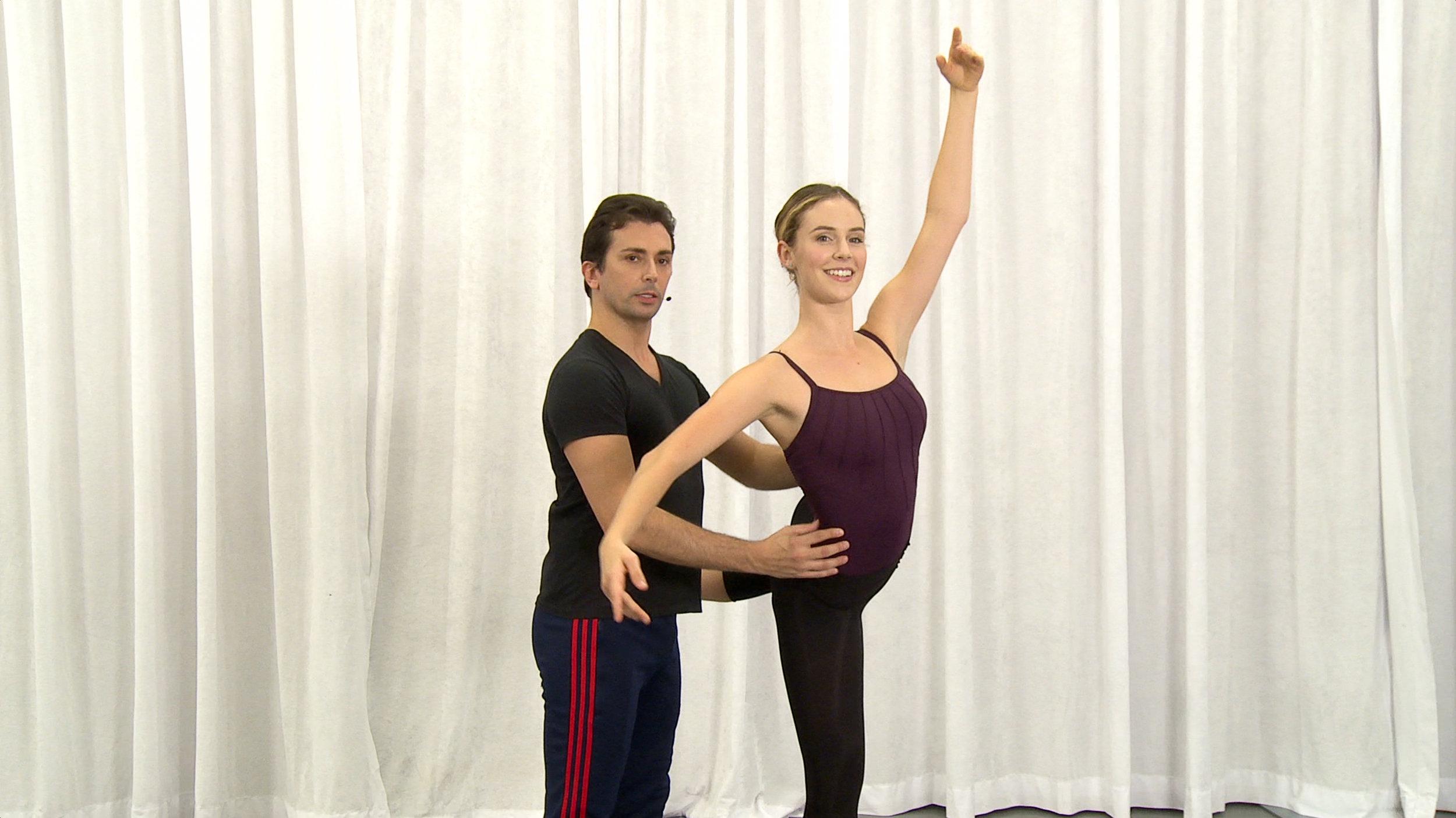 Dancio Barre with Lauren King