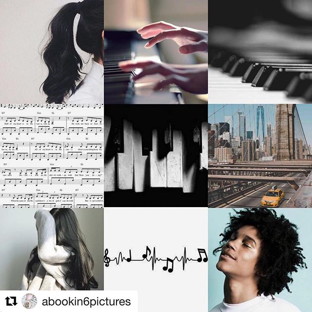 I am deceased, cause of death: 😍. This is so much better than any of my own aesthetic boards for the book! ❤️ @abookin6pictures  #nightmusic #bookaesthetics