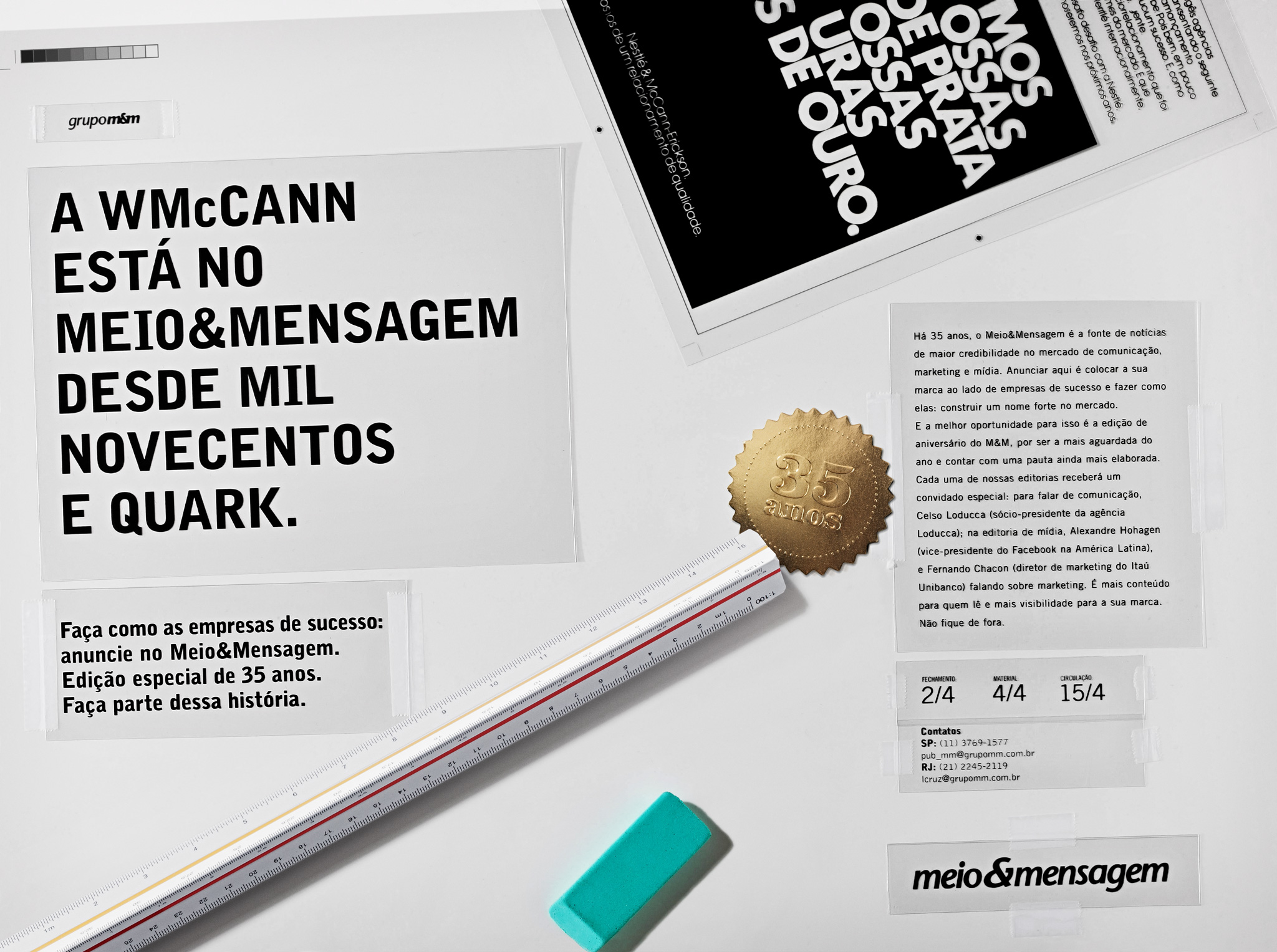 W/McCann is on meio&mensagem since one thousand nine hundred and Quark.