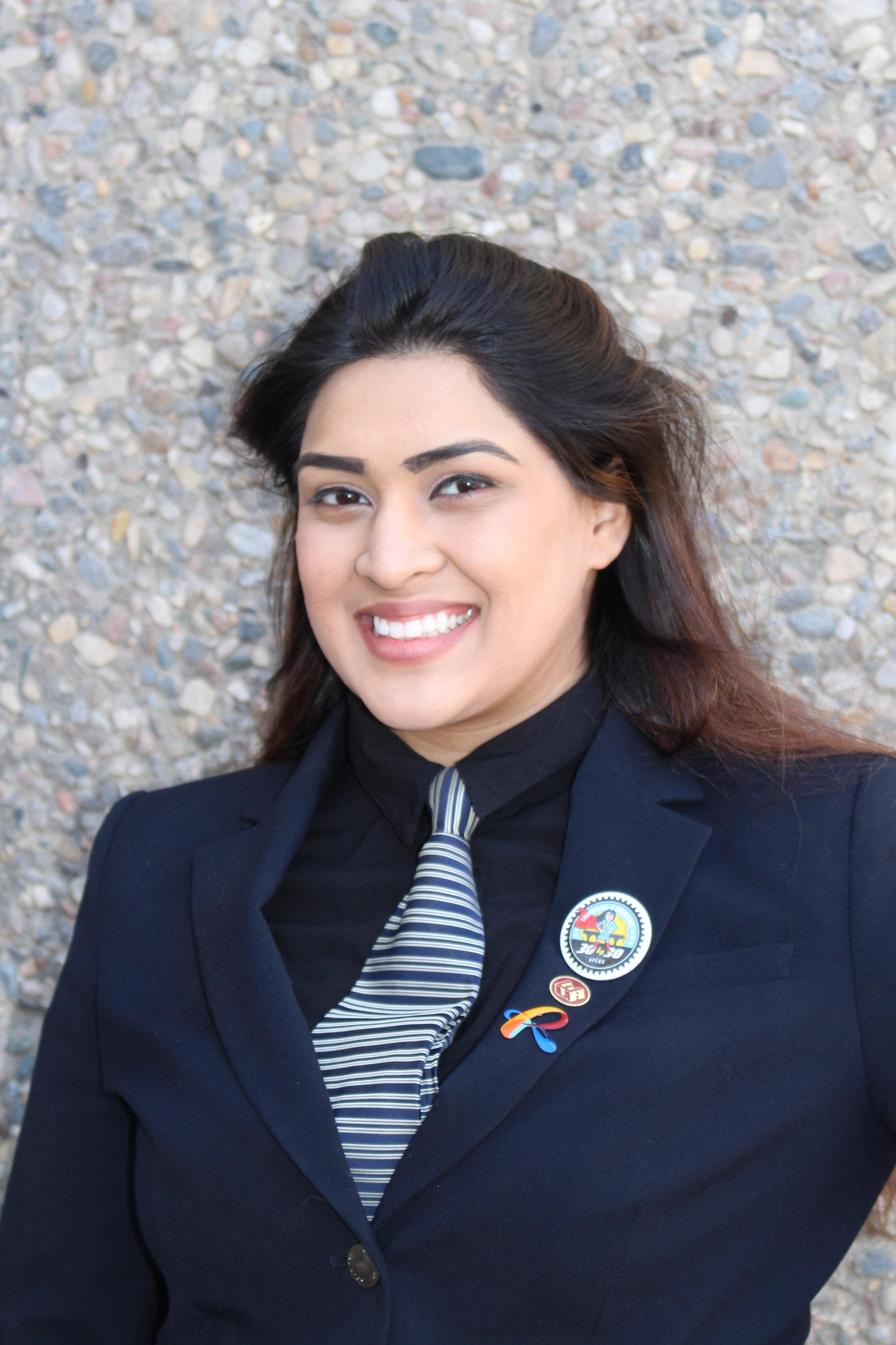 Hibba Syeda - Secretary