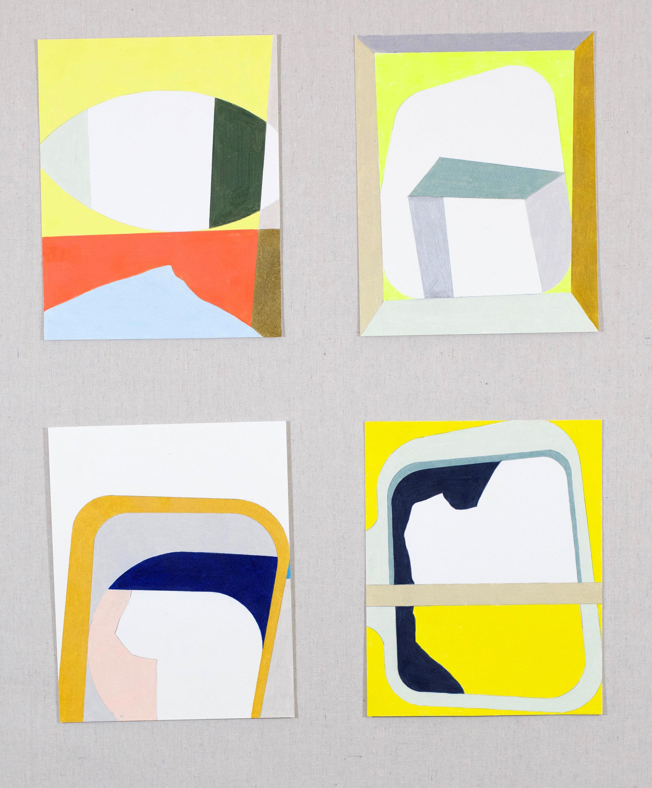 Untitled studies, 2017