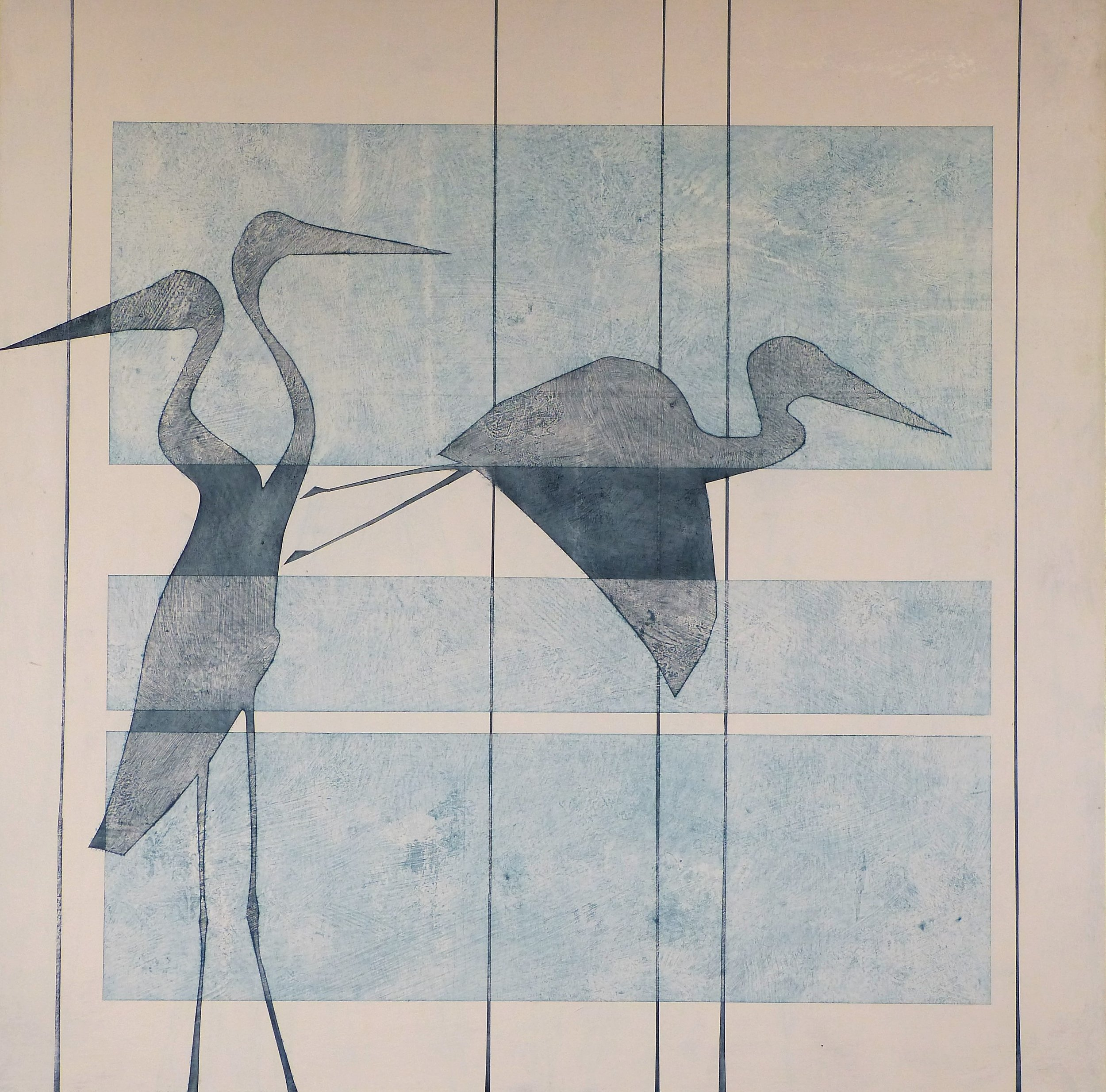 THE HERON CLAN - They make home on the Great RiverVigilant, attentive, intelligentStillnessA lesson in self reflectionEcological care-takersThey only take what they needBeautiful and magnificent in natureGeneration after generation after generation.
