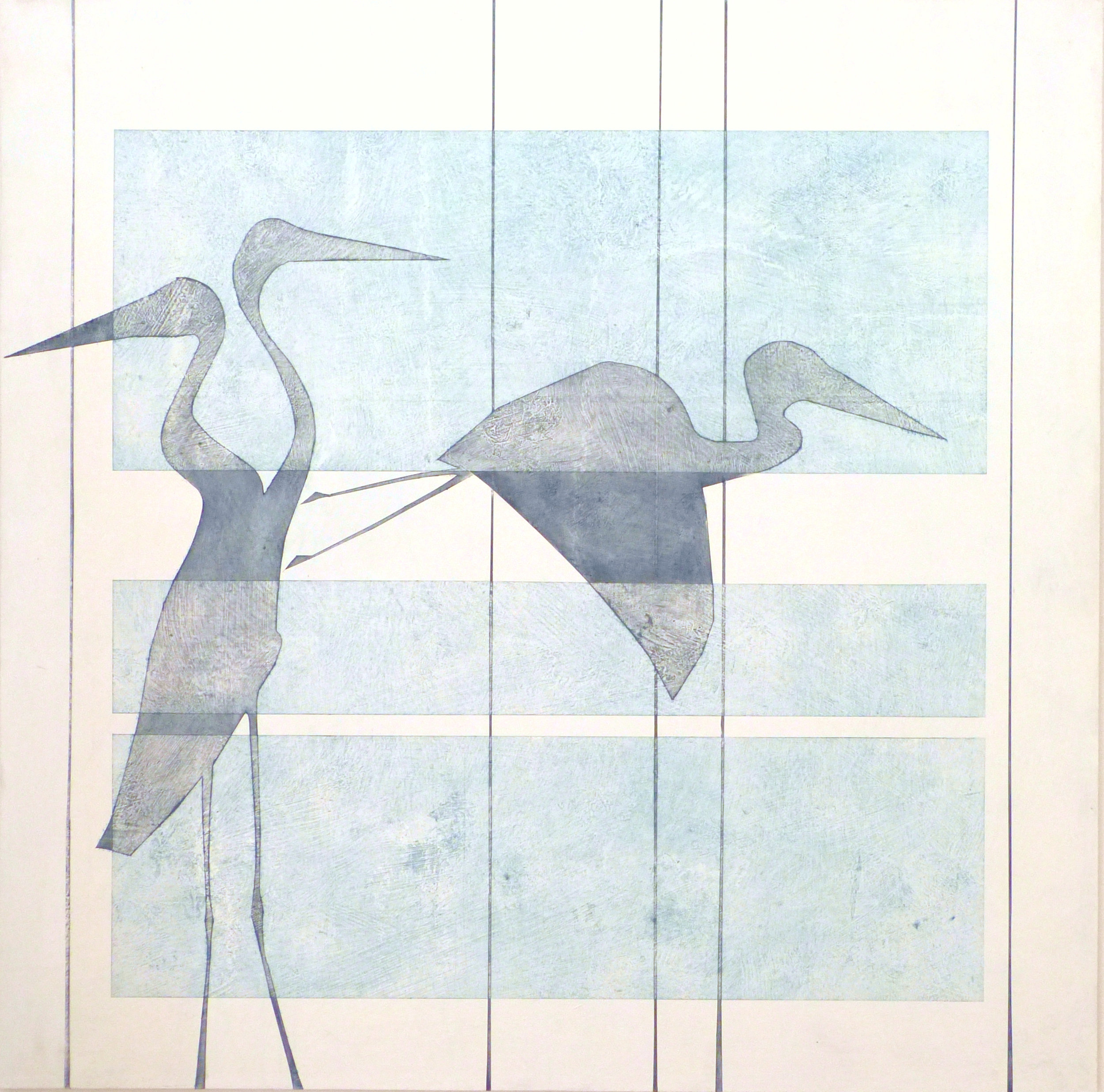 THE HERON CLAN - They make home on the Great RiverVigilant, attentive, intelligentStillnessA lesson in self reflectionEcological care-takersThey only take what they needBeautiful and magnificent in natureGeneration after generation after generation