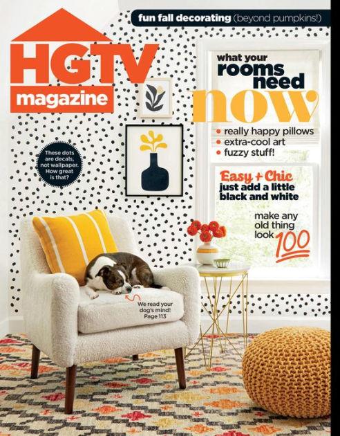 HGTV Magazine, Oct. 2019