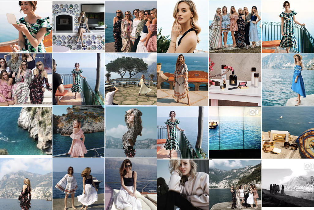 #HarrodsSummer - Instagram coverage