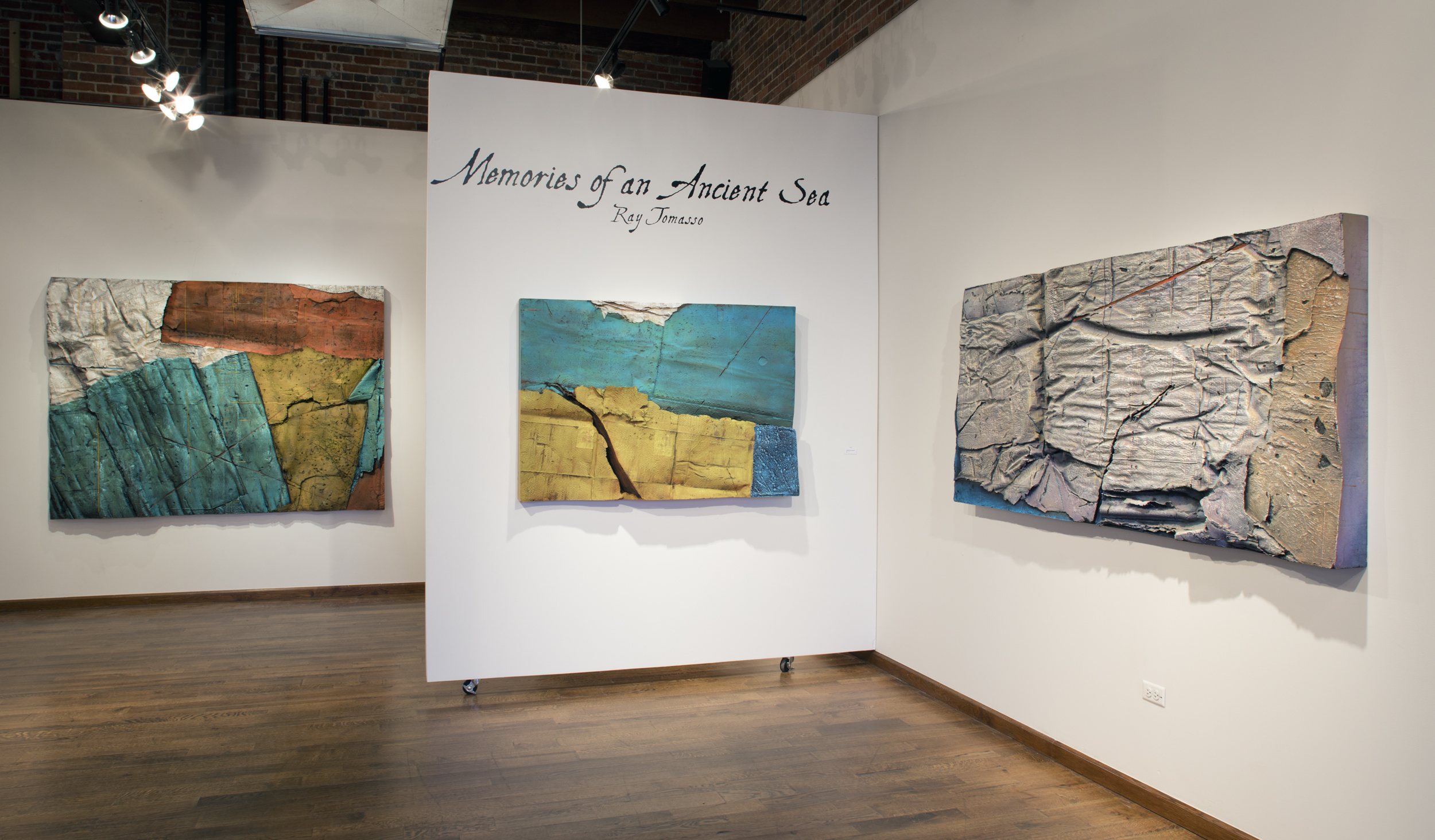 """Ray Tomasso Exhibit """"Memories of an Ancient Sea"""""""