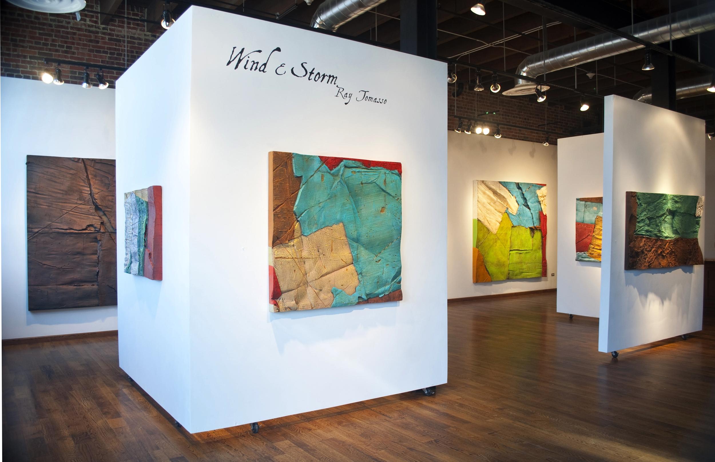 """Ray Tomasso Exhibit """"Wind & Storm"""""""