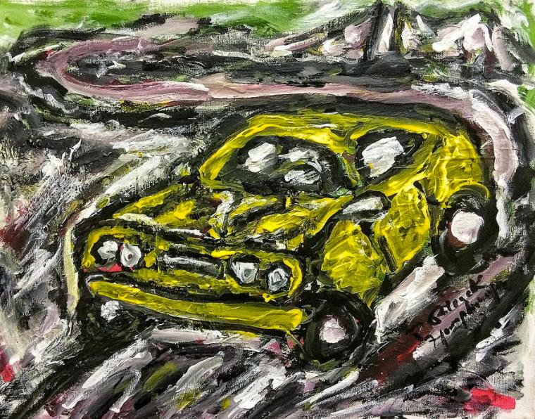 Yellow Chevelle