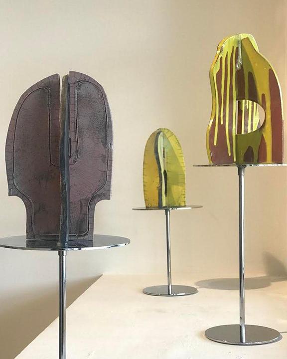Racu Ceramic I,II and III by Elizabeth Burke-Dain