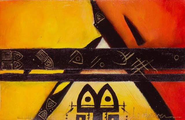Mystical Triangle by Beatriz Ledesma