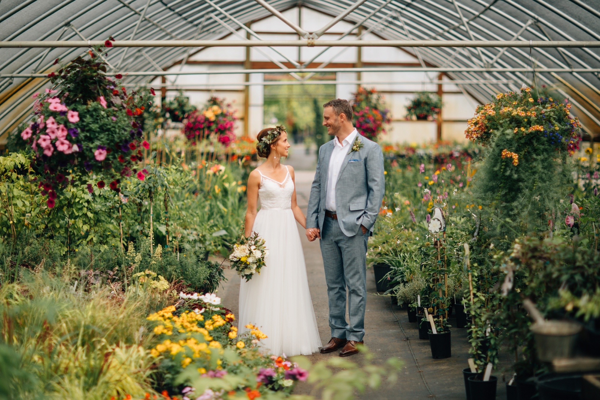 Photo by  Stefan & Audrey Photography  Florals by  Scattered Seeds…a Flower Farm