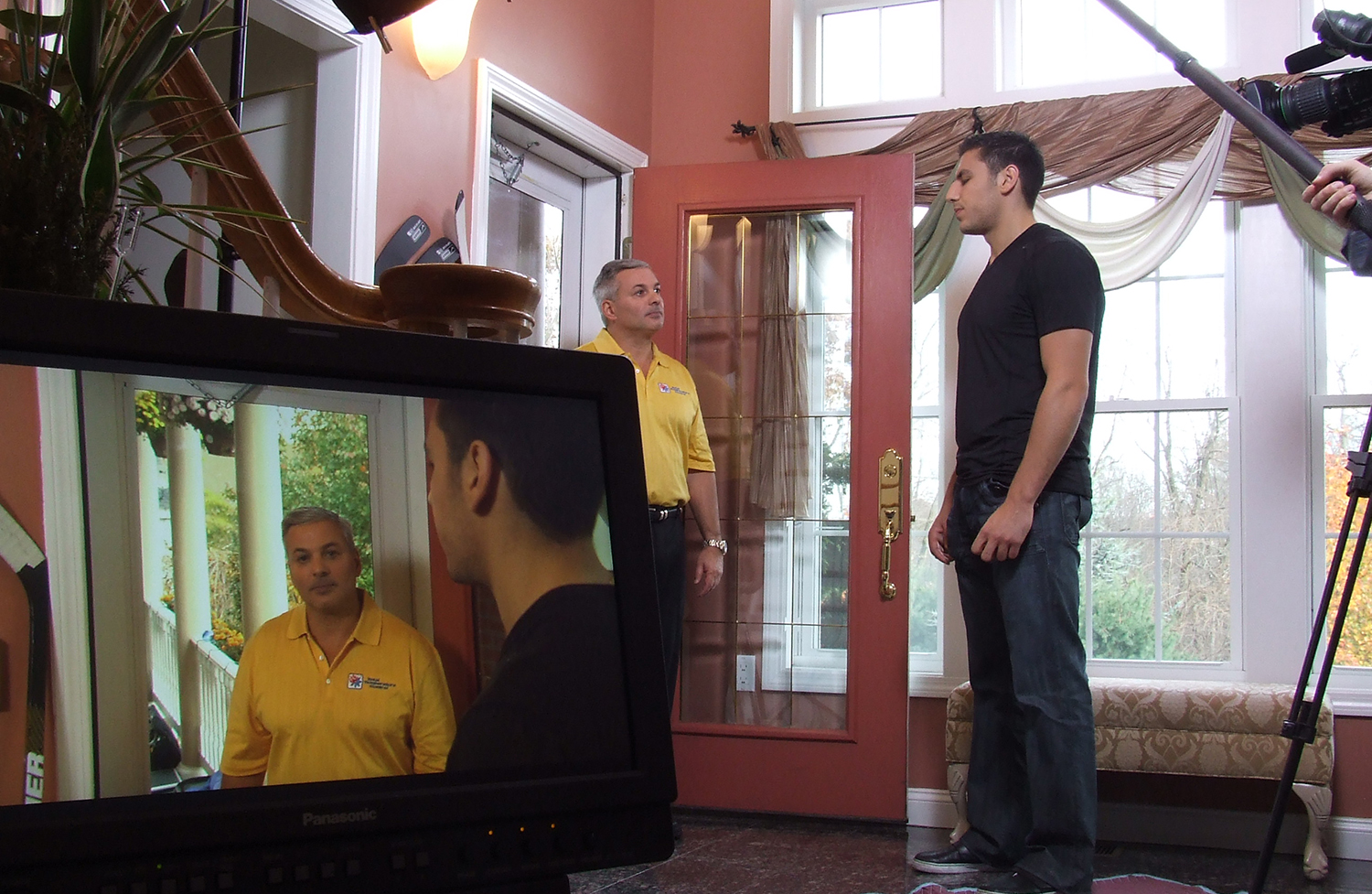 Total Temp and Milan Lucic feature a Carrier heating and cooling system in a television commercial.